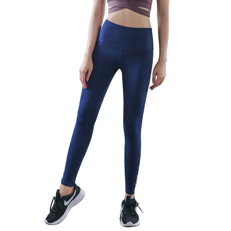 Amazon.com: Leggings deportivos para mujer con cintura ...