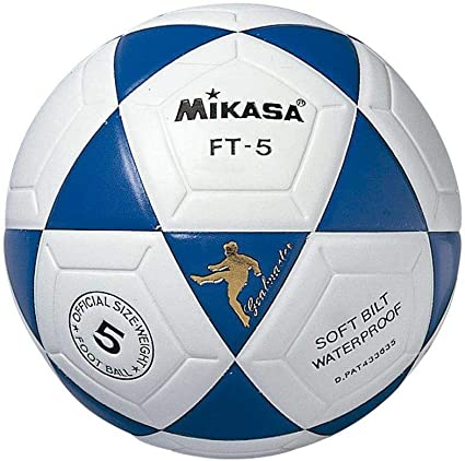 MIKASA FT-5 Cuero SINTÉTICO TERMOSOLDADO BALÓN Fútbol 11 -AZ ...