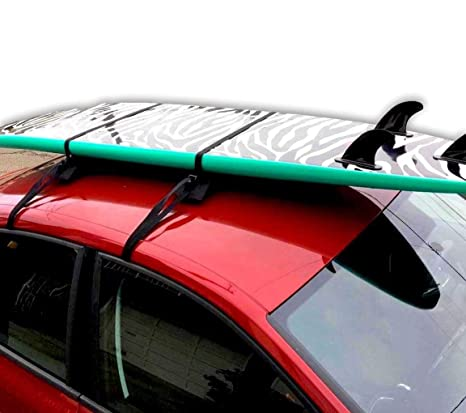 Amazon Com Block Surf Surfboard Roof Rack Universal Fit For Cars