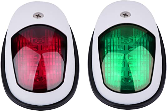 POP-UP Tri-color Light with Stainless housing Navigation Light boat