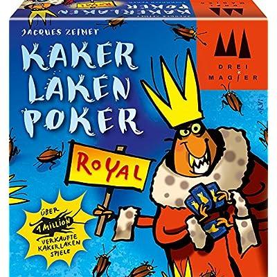 Drei Magier Spiele Kakerlakenpoker Royal Board Game: Toys & Games