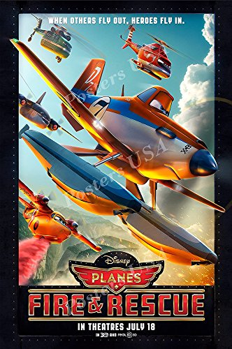 Posters USA - Disney Pixar Planes Fire & Rescue Movie Poster Glossy Finish