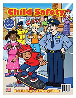 Child Safety Coloring Book 85x11 ColoringBook Really Big Books 9781935266372 Amazon