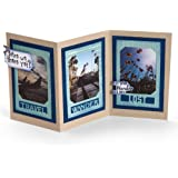 Sizzix Framelits Die Set 13-Pack with Stamps, Photo Frame, Travel by Lynda Kanase, Multi