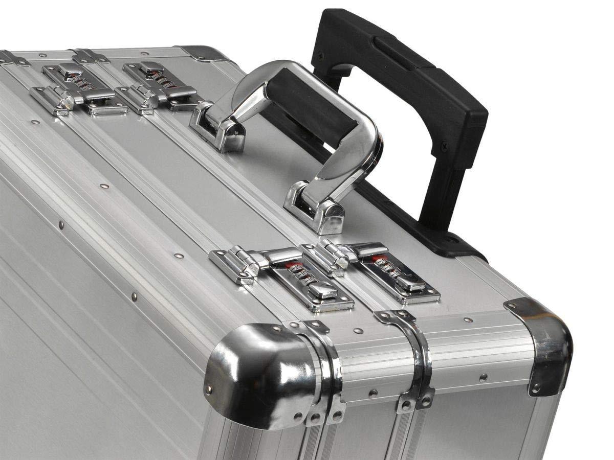 "ALUMAXX Multifunktions Koffer /""CHALLENGER/"" silber aus Aluminium ohne Inhalt"