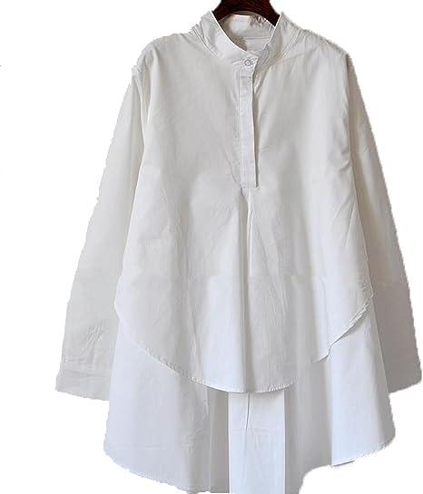 YALI Floja De La Camisa Blanca De Manga Larga,Blanco,XXXL: Amazon.es: Deportes y aire libre