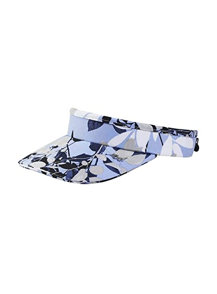 0e13be84126b2 Rohnisch Ladies Sun Visor Light Blue Leaves: Amazon.co.uk: Clothing