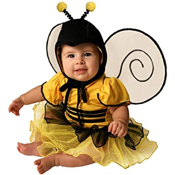 amazoncom deluxe infant baby bumble bee halloween costume 18 months toys games