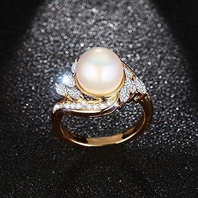 Anillos de mujer compromiso aniversario/matrimonio joyería fina moda 2018 dedo anillo para las mujeres aaa Colorful Cubic Circonita: Amazon.es: Joyería