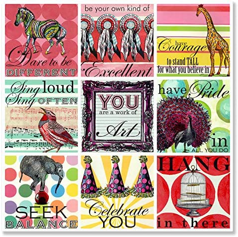 Oopsy Daisy Sweet Sayings Girl Stretched Canvas Wall Art