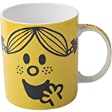 Mr Men Little Miss Sunshine Face Can Mug, White