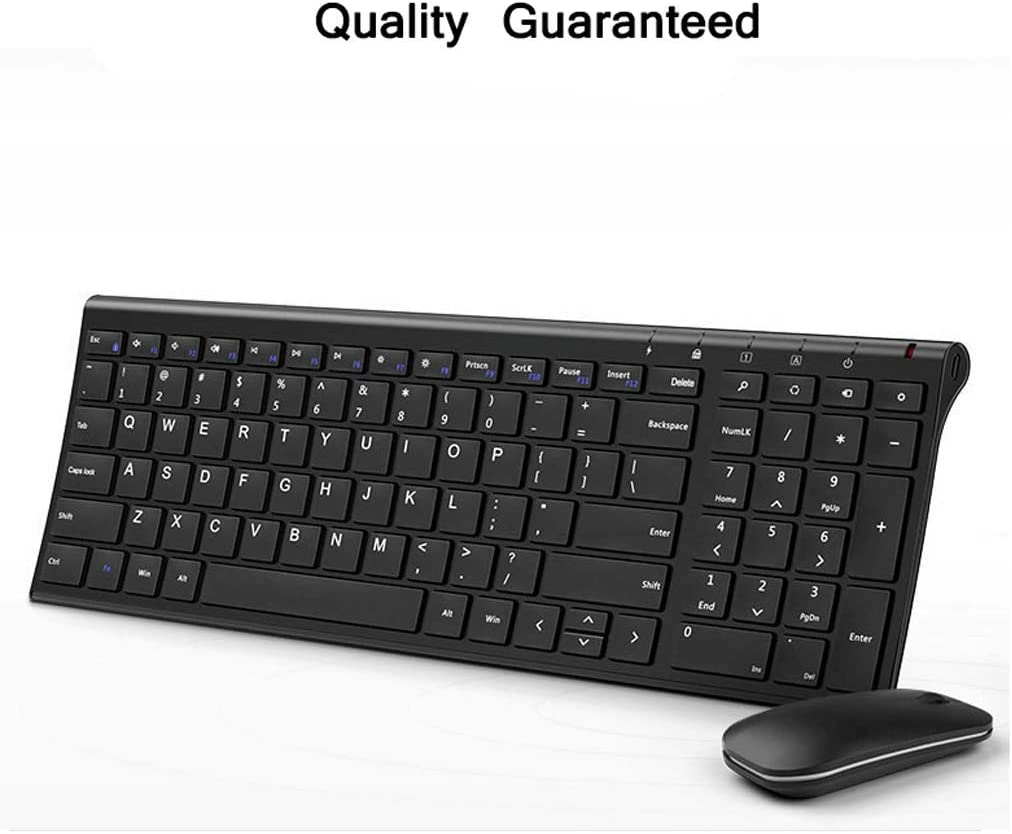 Color : Ivory White Set Rechargeable OUKB Charging Version Wireless Mouse Keyboard Set Laptop Game Ultra-Thin Silent Portable Tablet Smart TV Set Top Box