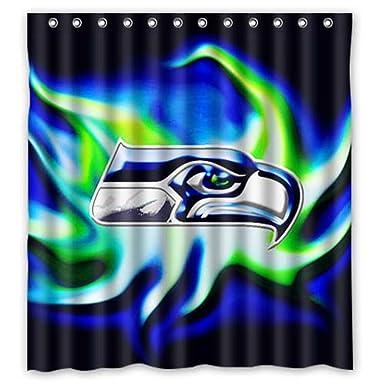 60 Quotx72quot Seattle Seahawks Shower Curtain