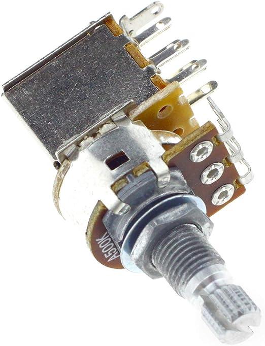 YINETTECH A500K Pulsador de Audio Control Tono Volumen ...