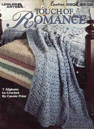 Touch Of Romance 7 Crochet Afghan Patterns Leisure Arts 2801