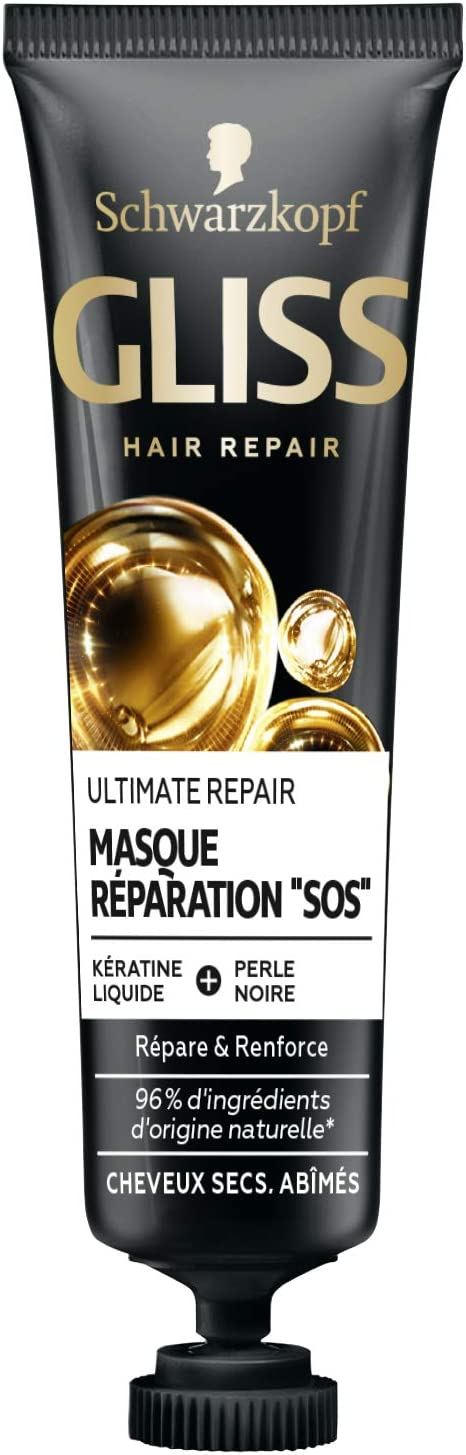Gliss Schwarzkopf Ultimate Repair Máscara SOS Sérum de 20 ml ...