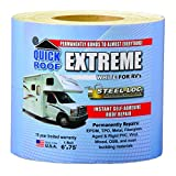 Cofair UBE675 Quick Roof Extreme with Steel-Loc Adhesive, White for RVs - 6'' x 75'