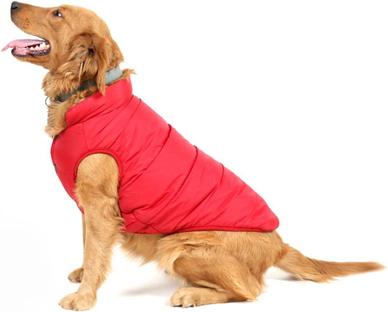 PENVO Ropa para Perros de Mascotas, Abrigos y Chaquetas Impermeables de Invierno para Perros pequeños y medianos Grandes Chaleco de Perro Cachorro Traje de suéter