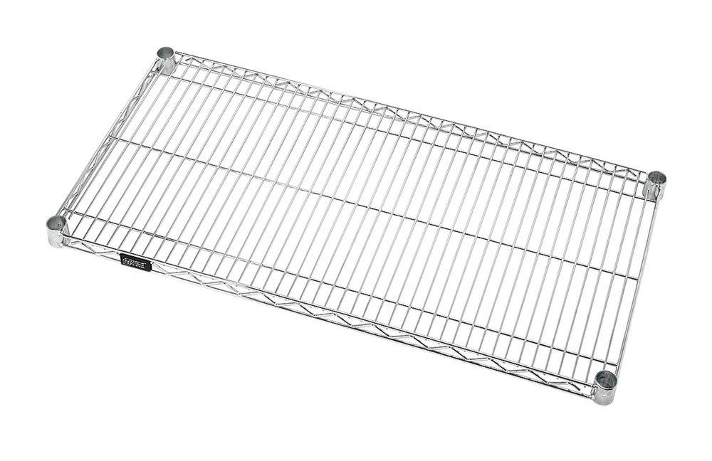 Quantum Storage Systems Wire Shelf 304 Stainless Steel - 12'' W x 36'' L