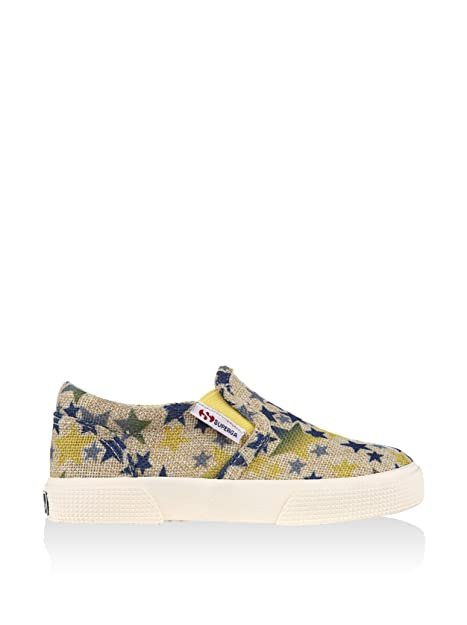 Mocasines - 2286-rusticstarsj - Bambini - Blue-Yellow - 25: Amazon.es: Zapatos y complementos