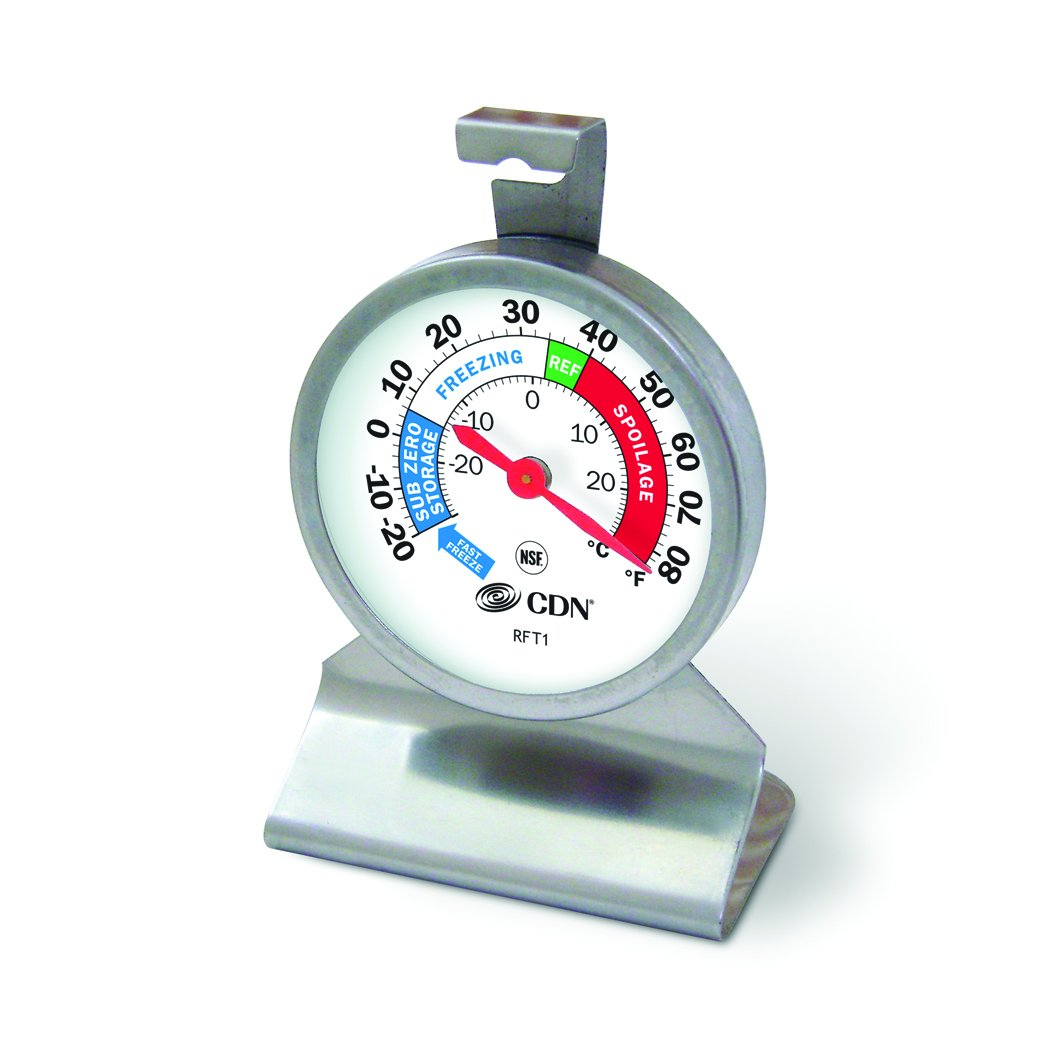 CDN RFT1 Proaccurate Heavy Duty Refrigerator Freezer Thermometer
