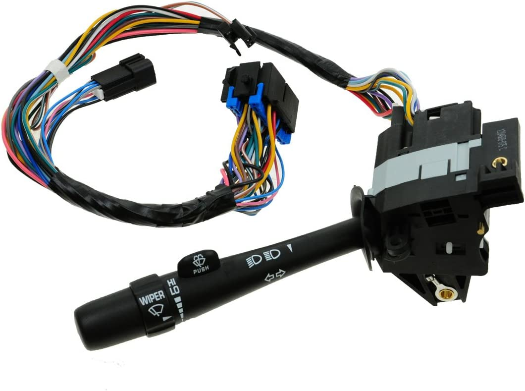 New Turn Signal Cruise Wiper Lever Headlight Switch For 00-05 Impala