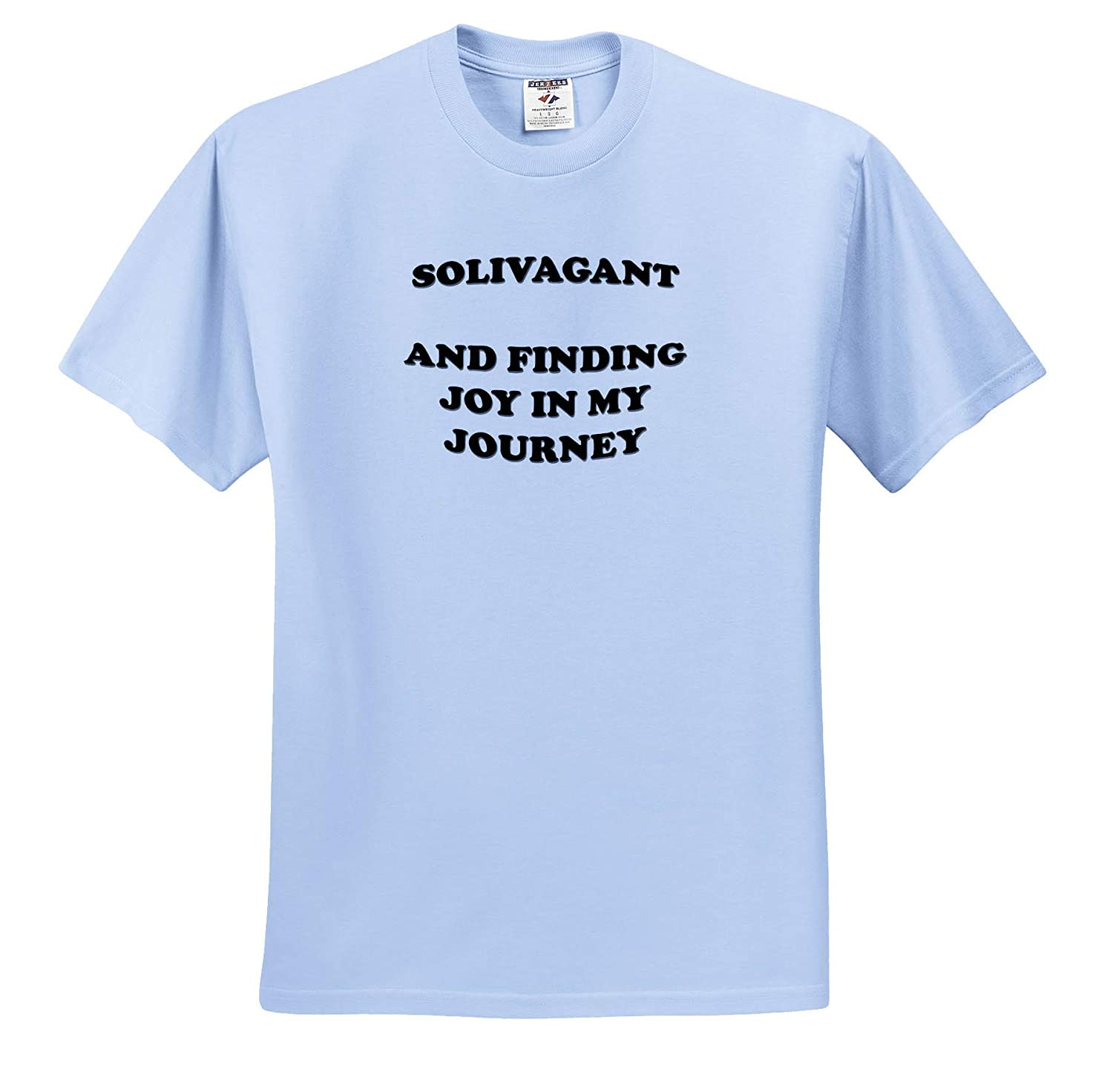 Text Design T-Shirts Solivagant 3dRose Taiche Solivagant and Finding Joy in My Journey