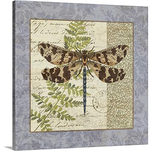 Suzanne Nicoll Vintage Hydrangea - Dragonfly home decor