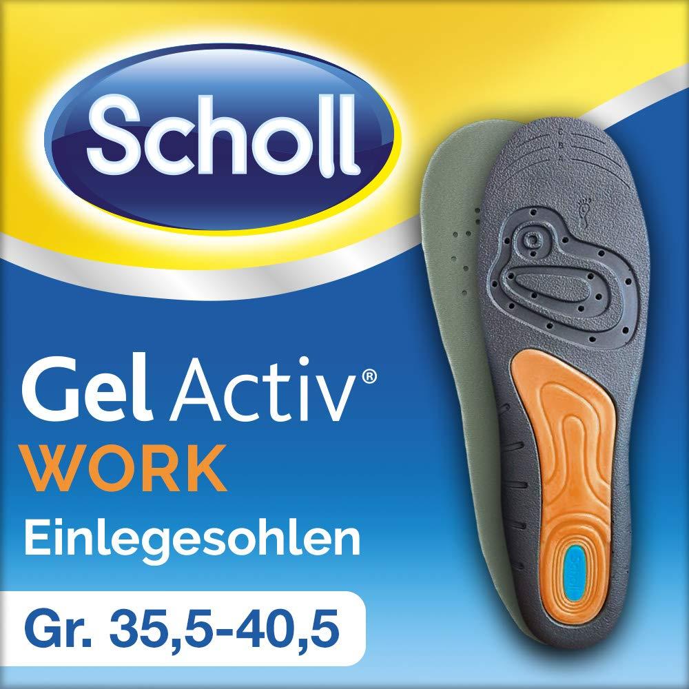 Scholl GelActiv Einlegesohlen Everyday Einlage Schuhsohle Schuh 40-46.5 4er Pack