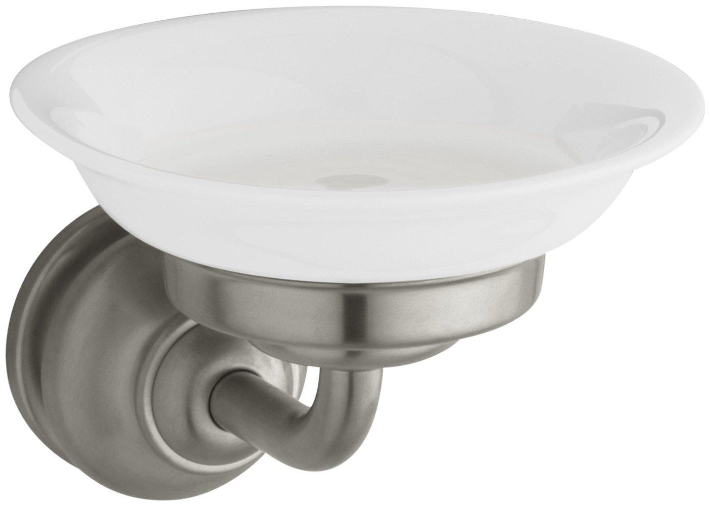KOHLER K-12162-BN Fairfax Soap Dish, Vibrant Brushed Nickel