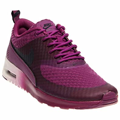 huge selection of 4a2c3 d9aad NIKE Women s Air Max Thea Premium Running Shoes. Size 10. BRIGHT GRAPE  OBSIDIAN