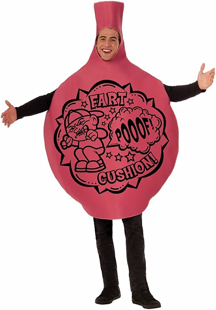 Adult Whoopie Whoopee Cushion 70s 80s Fancy Dress Costume Stag Do Outfit