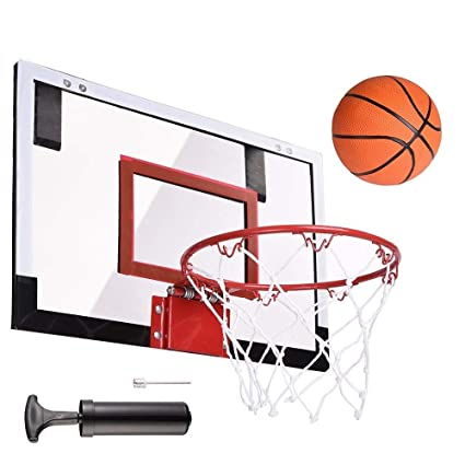 05216d42b36 Selva 18 quot x12 quot  Pro Mini Basketball Hoop System Wall Mounted Goal  Over The Door