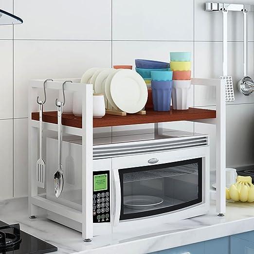 GBY Estante de Cocina de microondas Estante de Cocina, Horno ...