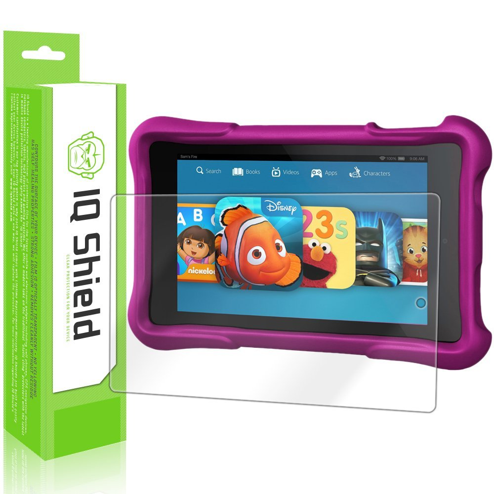Amazon.com: IQ Shield LiquidSkin - Amazon Fuego HD Kids Edición 7 Protector