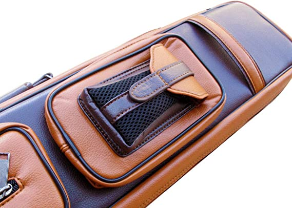 Gator 2020 New Champion Instroke Leather Cue Cases 4x6 Holds 4 Butts and 6 shafts Pool cue