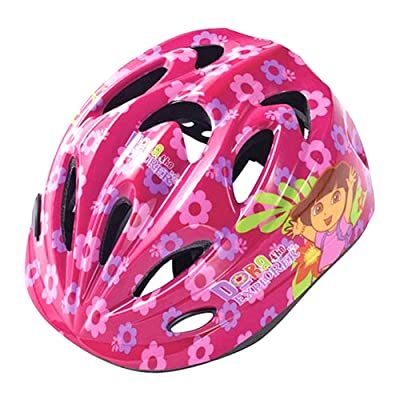 Samchully Dora Kids Helmet Adjustable Size Multi-Sport Child Helmet : Sports & Outdoors [5Bkhe0306084]