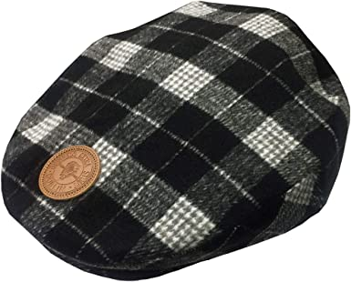 Guinness Tweed Patch Men's Flat Cap Grey: Amazon.co.uk: Clothing