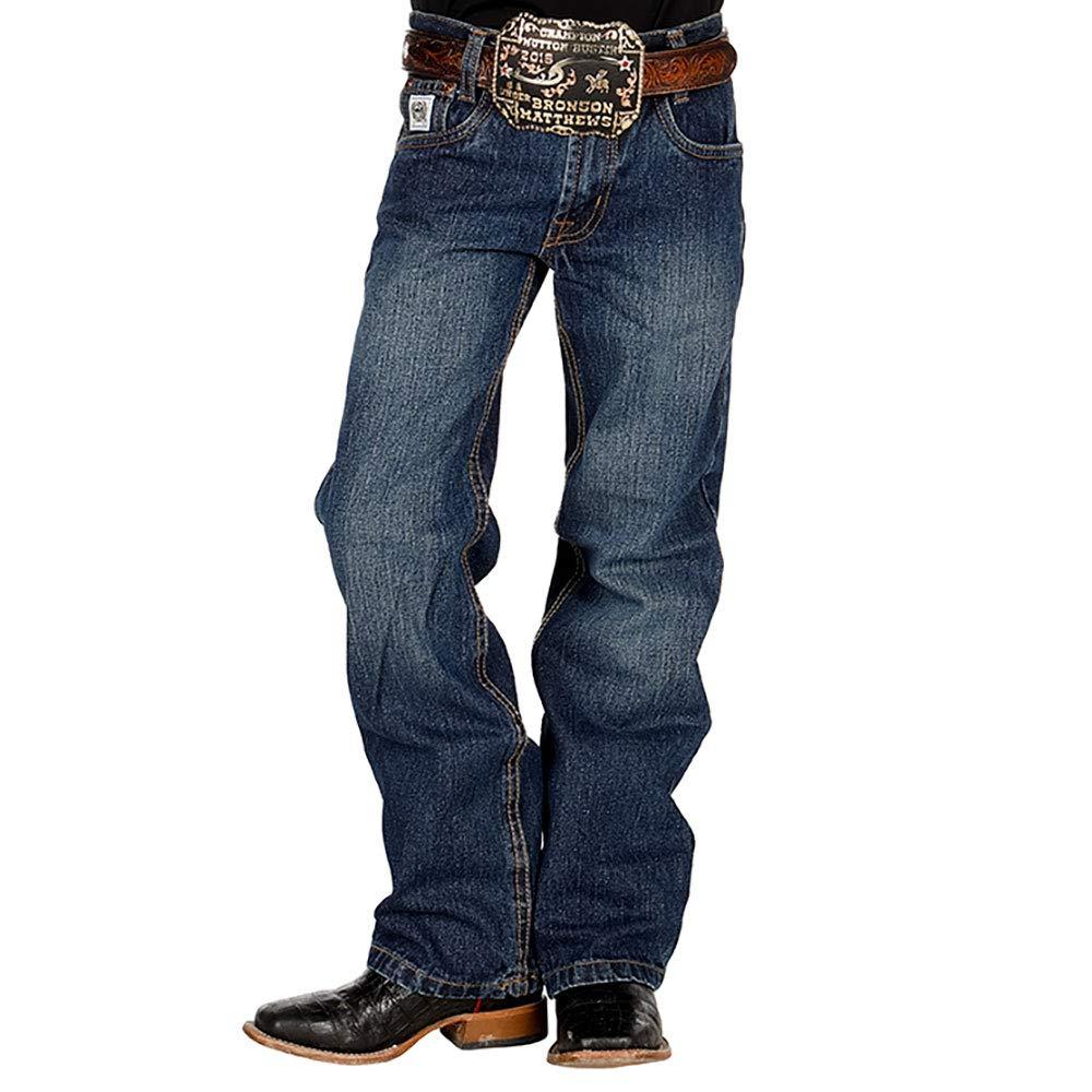 d2a0e259 Amazon.com: Cinch Apparel Boys Boys Regular White Label Jeans 12: Clothing