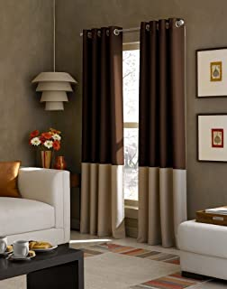 Akshya Blackout Window Curtains Set Of 2 For Living Room And Bed Room,  Eyelet Type