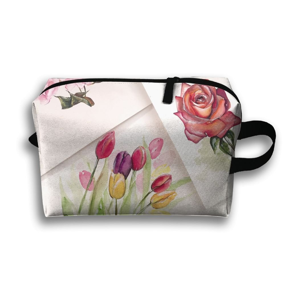 f7f9104b39a4 Amazon.com: RONG FA Watercolor Flowers Art Painting Portable Travel ...