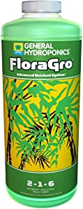 General Hydroponics FloraGro 1 Quart