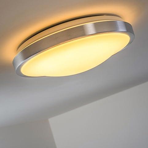 Led Deckenlampe Wutach Rund - 1.350 Lumen 18 Watt Led Warmweiss