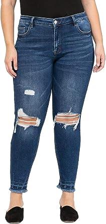 Vervet by Flying Monkey Jeans Smog Medium Dark Wash Boot Cut Jean VT223