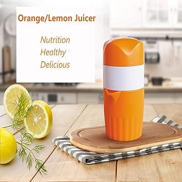 Abs. Exprimidor manual Exprimidor de naranjas Exprimidores caseros Prácticos utensilios de cocina: Amazon.es: Hogar