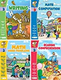 Smart Alec (3rd Grade) Four Pack Learning Series, Includes: Writing, Math Readiness, Reading Readiness, Math Word Problems
