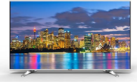 Hisense LTDN50K370WSGEU 50 Full HD Smart TV WiFi Negro, Plata LED TV - Televisor (Full HD, A, 16:9, Negro, Plata, 1920 x 1080 Pixeles, Flat): Amazon.es: Electrónica