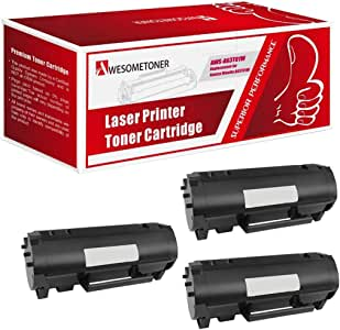 Black, 2-Pack Awesometoner Compatible Toner Cartridge Replacement for Konica-Minolta TNP37 A63T01W use with Bizhub 4700P