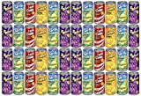 30 pack of soda - Set of 48 - .25oz Mini Soda Can Fizzy Candy! - Goody Bag Filler - Party Favor - 4 Assorted Flavors!