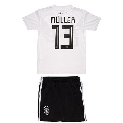 half off ba91f 9022c AMDS Soccer Youth Jersey Set â— Germany â— Home Jersey â ...